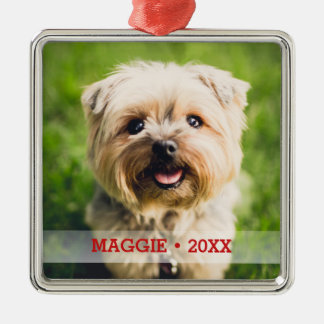 Personalized Pet Photo Cute Special Christmas Tree Christmas Ornament