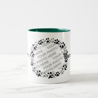 Personalized Pet Photo Two-Tone Coffee Mug