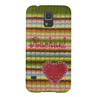 Personalized Phone Case with Knitted Pattern