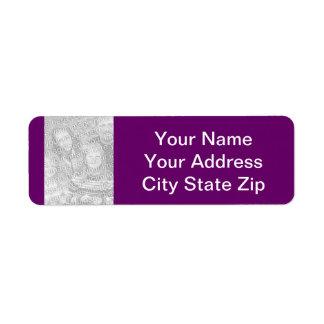 Personalized Photo Address Labels
