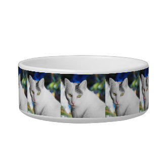 Personalized Photo Cat Food Bowl