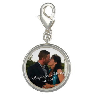 personalized photo charm