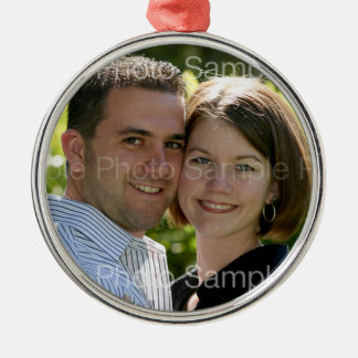Personalized Photo Christmas Ornament