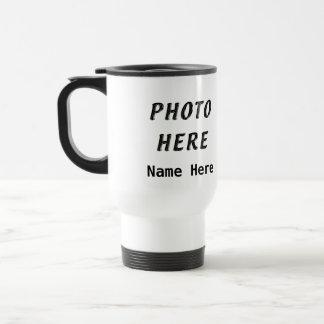 Personalized Photo Coffee Travel Mugs
