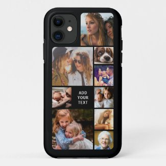Personalized Photo Collage Case-Mate iPhone Case