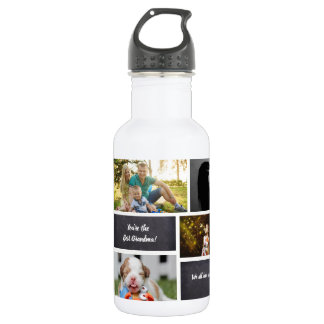 Personalized, Photo Collage, Custom 532 Ml Water Bottle