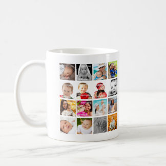 Personalized Photo Collage Make Your Own Coffee Mug