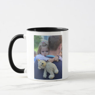 Personalized Photo Dad is My Superhero Coffee Mug