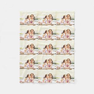 Personalized photo fleece blanket. Make your own! Fleece Blanket
