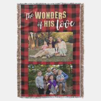 Personalized Photo Gift | Christmas Blanket