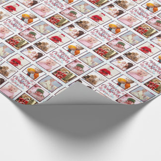 Personalized PHOTO Gift Wrap Christmas Intagram