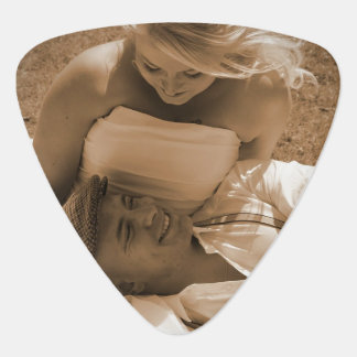 Personalized Photo Guitar Picks For Wedding Favors
