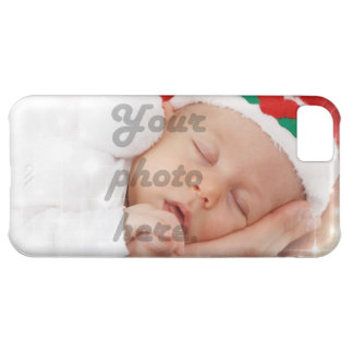 Personalized photo iPhone 5C case