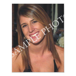 Personalized photo magnetic postcard Make your own Magnetic Invitations