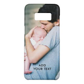 Personalized Photo Name Initial Monogram Custom Case-Mate Samsung Galaxy S8 Case