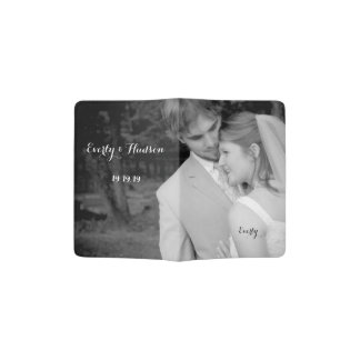 Personalized Photo Passport Holder