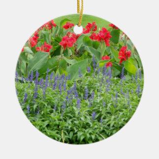 Personalized Photo Round Ceramic Ornament