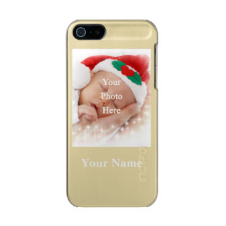 Personalized photo template and name incipio feather® shine iPhone 5 case