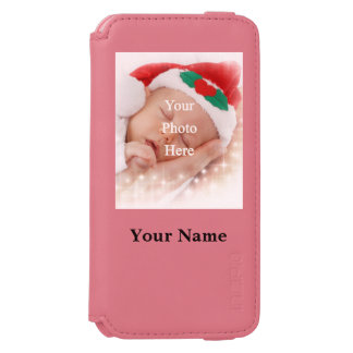 Personalized photo template incipio watson™ iPhone 6 wallet case