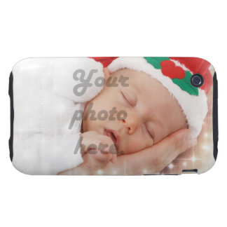Personalized photo tough iPhone 3 case
