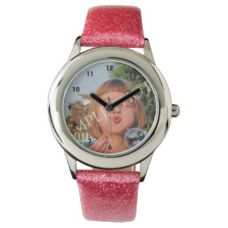 Personalized photo watch. Make your own! Watch