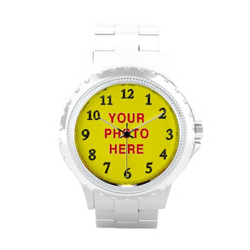 Personalized Photo Watches for Women  Instructions