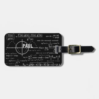 Personalized Physics Gifts for Physicists Luggage Tag