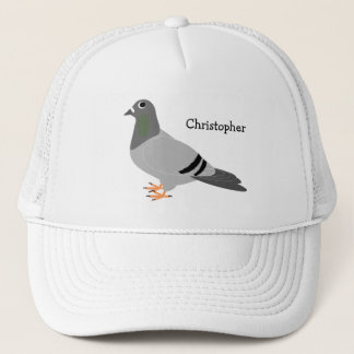 Personalized Pigeon Design Trucker Hat