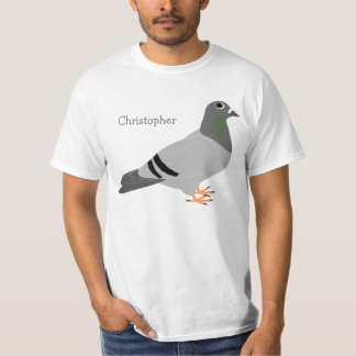 Personalized Pigeon T-Shirt