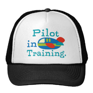 Personalized Pilot in Training Trucker Hats