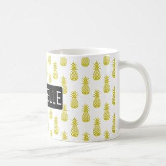 Personalized Pineapple Coffee Mug