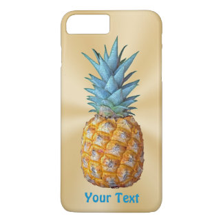 Personalized Pineapple iPhone Case with Your Text