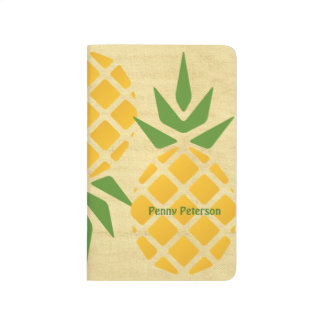Personalized Pineapple Journal