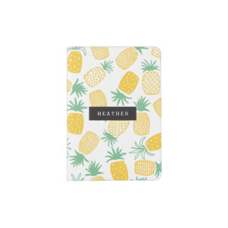 Personalized | Pineapples Passport Holder