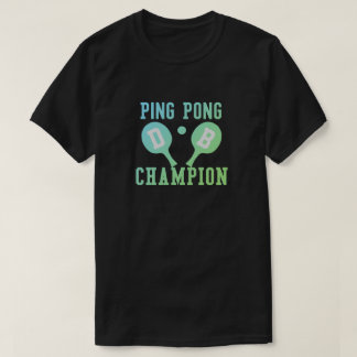 Personalized Ping Pong Champion T-Shirt