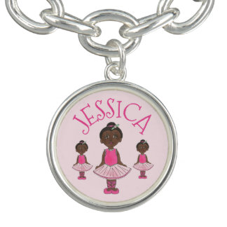 Personalized Pink Ballet Tutu Ballerina Dance Gift