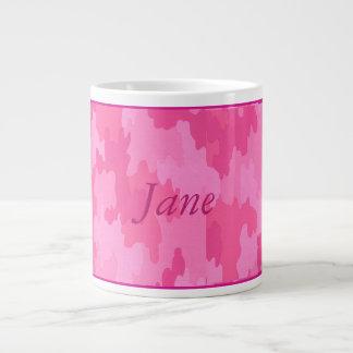 Personalized Pink Camouflage Mug