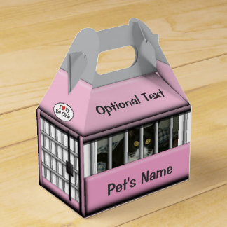 Personalized Pink Pet Dog or Cat Carrier © Favour Box