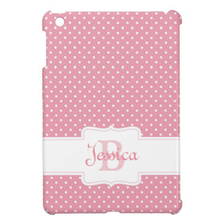 Personalized Pink Polka Dot Cover For The iPad Mini
