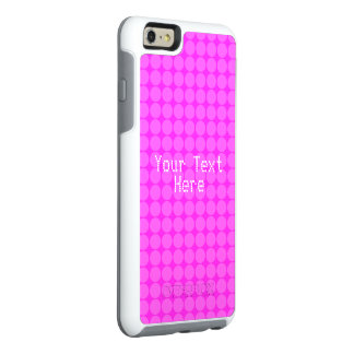 Personalized Pink Polka Dots Case