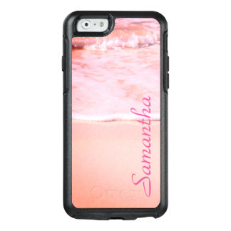 Personalized Pink Sand - OtterBox iPhone 6/6s Case