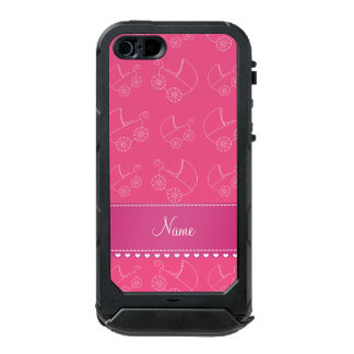 Personalized pink white baby carriages incipio ATLAS ID™ iPhone 5 case