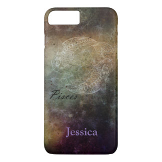 Personalized Pisces Grunge Zodiac Phone Case