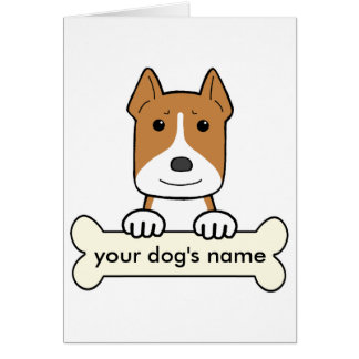 Personalized Pitbull Greeting Cards