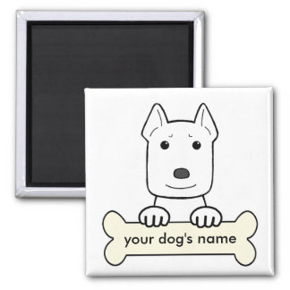 Personalized Pitbull Magnet