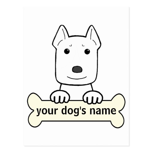Personalized Pitbull Post Cards