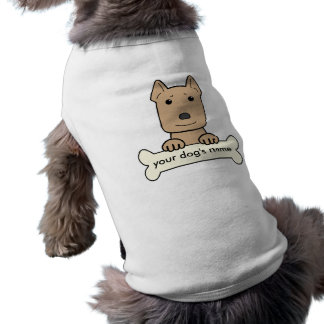 Personalized Pitbull Sleeveless Dog Shirt
