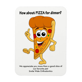 Personalized Pizza Magnet
