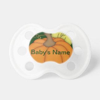 Personalized Plump Pumpkin Pacifier