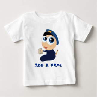 Personalized Police Baby Tee
